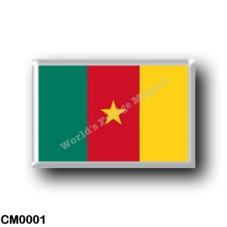 CM0001 Africa - Cameroon - Cameroonian Flag