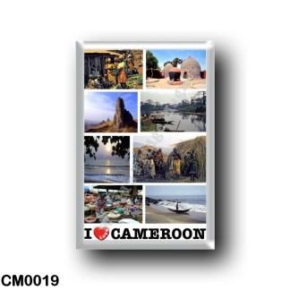 CM0019 Africa - Cameroon - I Love