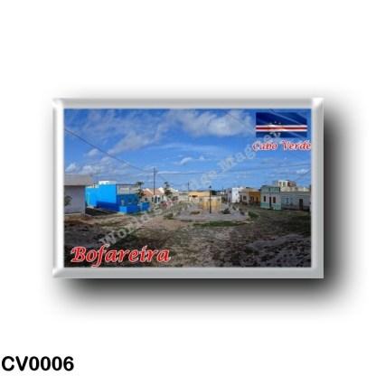 CV0006 Africa - Cape Verde - Bofareira Village Square