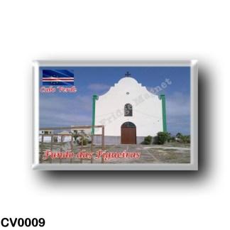 CV0009 Africa - Cape Verde - Fundo das Figueiras - Igreja