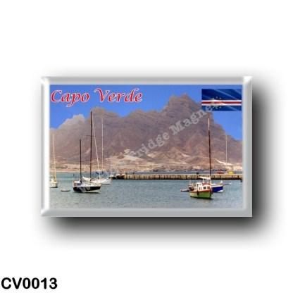 CV0013 Africa - Cape Verde - Mont Cara