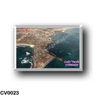 CV0023 Africa - Cape Verde - Sal Rei - Aerial Sal Reis