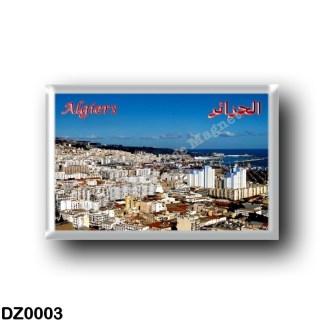DZ0003 Africa - Algeria - Algeri - Panorama