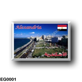 EG0001 Africa - Egypt - Alexandria of Egypt