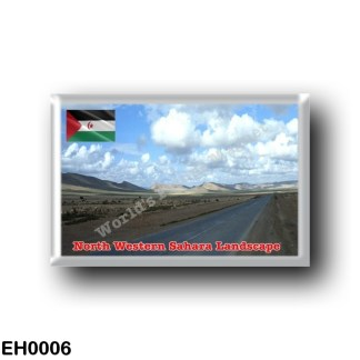 EH0006 Africa - Western Sahara - North Western Sahara landscape