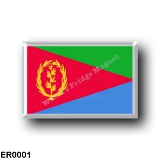 ER0001 Africa - Eritrea - Eritrean Flag