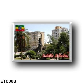 ET0003 Africa - Ethiopia - Addis Ababa - High rise buildings