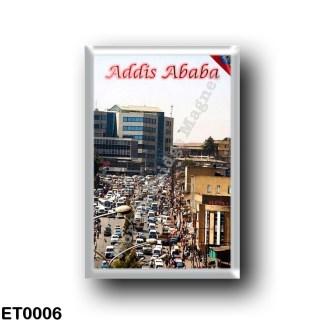 ET0006 Africa - Ethiopia - Addis Ababa - The Bustling Centre