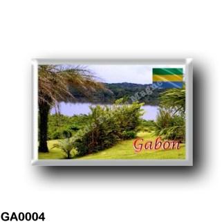 GA0004 Africa - Gabon - Lac à Kango
