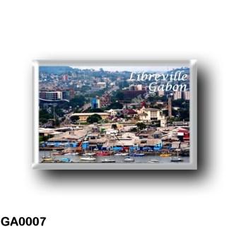 GA0006 Africa - Gabon - Libreville - Panorama
