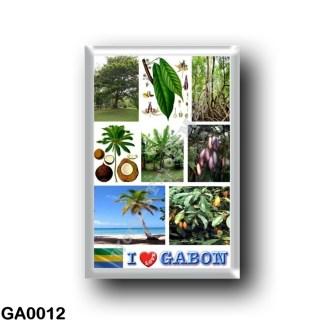 GA0012 Africa - Gabon - I Love Gabon