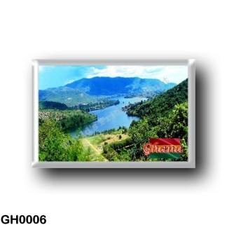 GH0006 Africa - Ghana - Volta Lake
