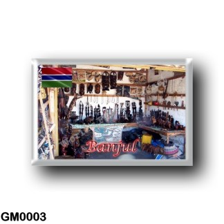 GM0003 Africa - The Gambia - Banjul - Tourist Craft Store