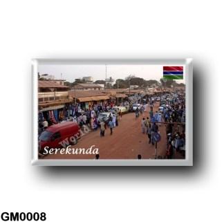 GM0008 Africa - The Gambia - Serekunda market