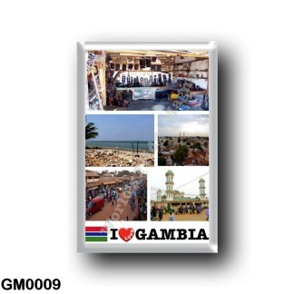 GM0009 Africa - The Gambia - I Love