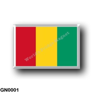 GN0001 Africa - Guinea - Flag