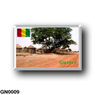 GN0009 Africa - Guinea - Siguiri village