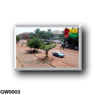 GW0003 Africa - Guinea Bissau - Bissau - City Center