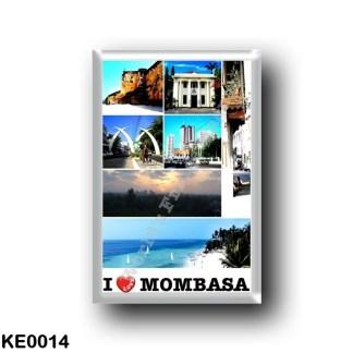 KE0014 Africa - Kenya - Mombasa - I Love