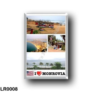 LR0008 Africa - Liberia - Monrovia - I Love