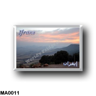 MA0011 Africa - Marocco - Ifrane - Paysage