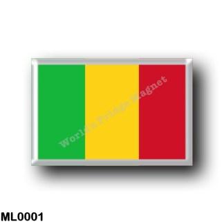 ML0001 Africa - Mali - Flag