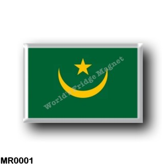 MR0001 Africa - Mauritania - Flag