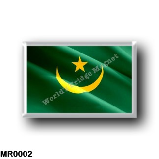 MR0002 Africa - Mauritania - Flag Waving