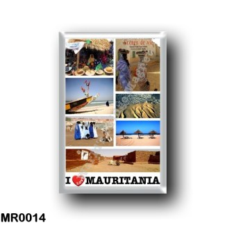 MR0014 Africa - Mauritania - I Love