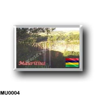 MU0004 Africa - Mauritius - Chamarel Wasserfall