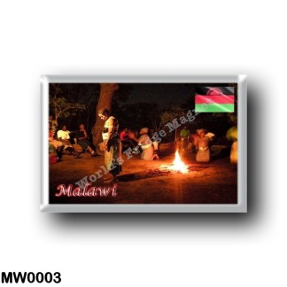 MW0003 Africa - Malawi - Dança folclórica