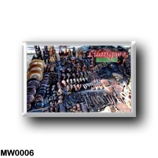 MW0006 Africa - Malawi - Lilongwe - Crafts market