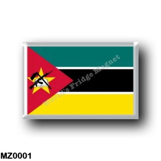 MZ0001 Africa - Mozambique - Flag