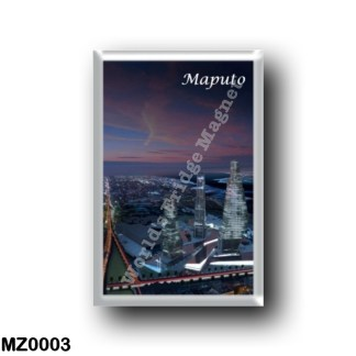 MZ0003 Africa - Mozambique - Maputo By Night