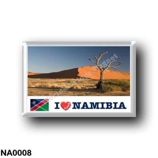 NA0008 Africa - Namibia - I Love