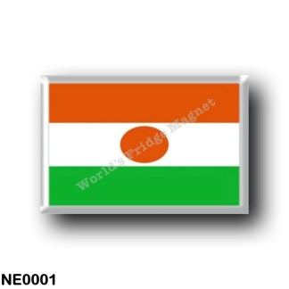 NE0001 Africa - the Niger - Flag