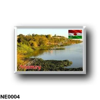 NE0004 Africa - the Niger - Niamey Panorama