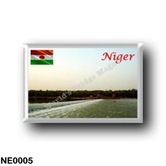 NE0005 Africa - the Niger - Niger River Barriage Nimaey