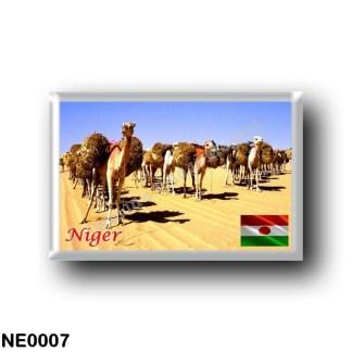 NE0007 Africa - the Niger - Oasis Bilma