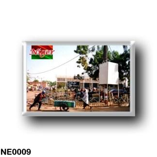 NE0009 Africa - the Niger - Place Djibo Bakary Walraven