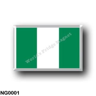 NG0001 Africa - Nigeria - Flag