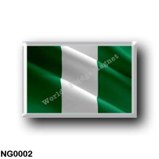 NG0002 Africa - Nigeria - Flag Waving