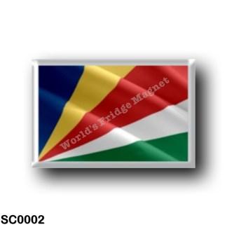 SC0002 Africa - Seychelles - Flag Waving
