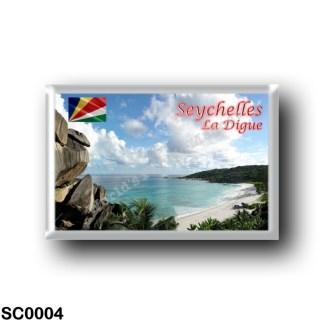 SC0004 Africa - Seychelles - La Digue - The beach of Grande Anse