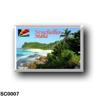 SC0007 Africa - Seychelles - Mahé - Beach