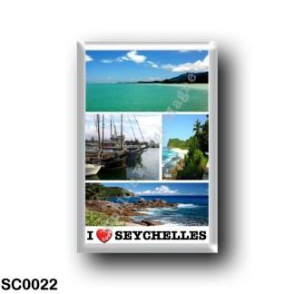 SC0022 Africa - Seychelles - Mahé - I Love