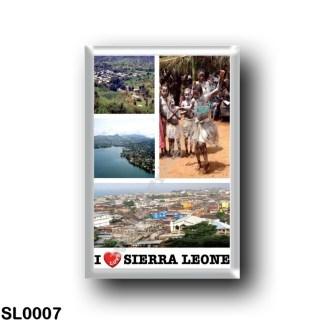 SL0007 Africa - Sierra Leone - I Love