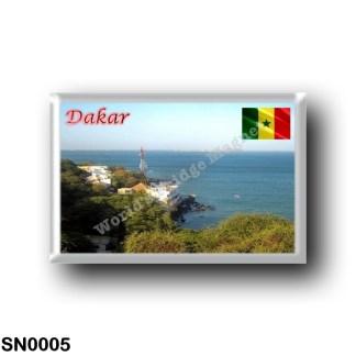 SN0005 Africa - Senegal - Dakar - Panorama