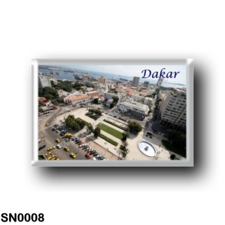 SN0008 Africa - Senegal - Dakar - Panorama