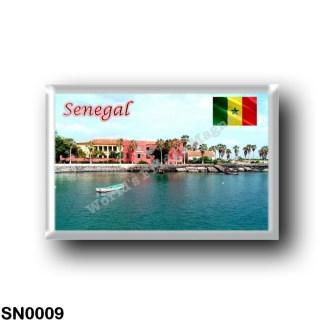 SN0009 Africa - Senegal - Port de l'Île de Gorée